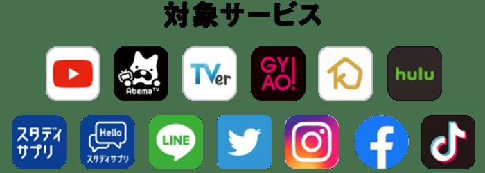 """""""ウルトラギガモンスター+対象サービス""""イメージ画像"""